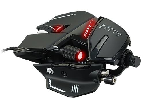 【キャッシュレス 5% 還元】 Mad Catz マウス R.A.T.8+ Optical Gaming Mouse MR05DCINBL000-0J [タイプ:光学式マウス インターフェイス:USB その他機能:カウント切り替え可能 重さ:145g] 【】 【人気】 【売れ筋】【価格】