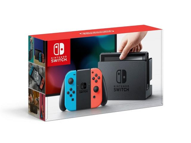 【キャッシュレス 5% 還元】 任天堂 ゲーム機 Nintendo Switch [ネオンブルー/ネオンレッド] 【2017年モデル(旧モデル)】 【】 【人気】 【売れ筋】【価格】