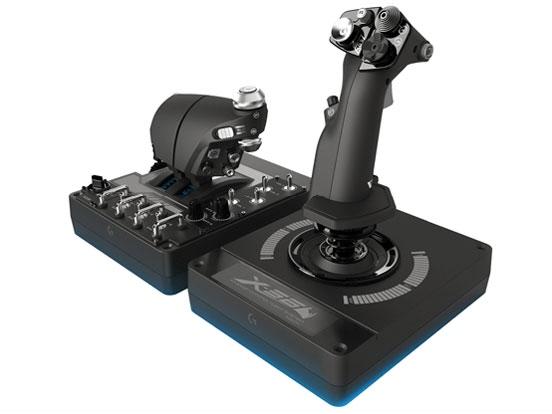 【キャッシュレス 5% 還元】 ロジクール ゲーム周辺機器 X56 HOTAS G-X56R [対応機種:Windows タイプ:フライトコントローラ]  【人気】 【売れ筋】【価格】