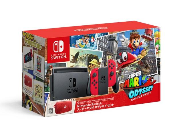【キャッシュレス 5% 還元】 任天堂 ゲーム機 Nintendo Switch スーパーマリオ オデッセイセット 【】 【人気】 【売れ筋】【価格】