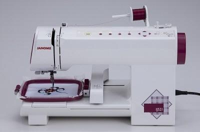 ジャノメ ミシン IJ521 [タイプ:刺繍 幅x高さx奥行:415x250x259mm]  【人気】 【売れ筋】【価格】