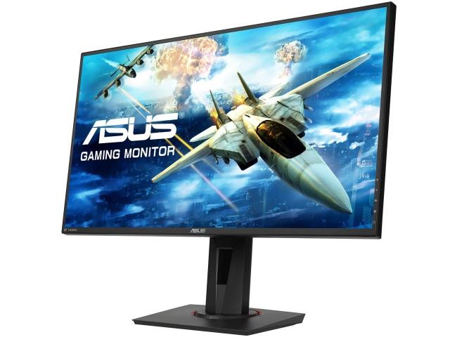 【キャッシュレス 5% 還元】 ASUS 液晶モニタ・液晶ディスプレイ VG278QR [27インチ ブラック] [モニタサイズ:27インチ モニタタイプ:ワイド 解像度(規格):フルHD(1920x1080) 入力端子:DVIx1/HDMI1.4x1/DisplayPortx1]