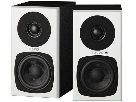 ハイレゾに対応したアクティブスピーカー ホワイト ご予約品 FOSTEX PCスピーカー PM0.3H W タイプ:2chスピーカー 価格 ※アウトレット品 総合出力:30W 入力端子:ミニプラグ入力x1 RCA入力x1 売れ筋 人気