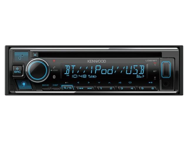 ケンウッド カーオーディオ U381BT [タイプ:プレーヤー 取付形状:1DIN 搭載プレーヤー:CD Bluetooth:Bluetooth 4.2 最大出力:50Wx4] 【】 【人気】 【売れ筋】【価格】