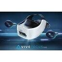 【ポイント5倍】HTC VRゴーグル・VRヘッドセット VIVE Focus Plus アドバンテージパック同梱版 99HARH006-00/ADV [タイプ:VRヘッドセット ディスプレイタイプ:AMOLED ディスプレイ解像度:片目あたり:1440x1600/合計:2880x1600]