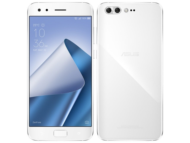 【キャッシュレス 5% 還元】 ASUS スマートフォン ZenFone 4 Pro SIMフリー [ムーンライトホワイト] [キャリア:SIMフリー OS種類:Android 7.1 販売時期:2017年秋モデル 画面サイズ:5.5インチ 内蔵メモリ:ROM 128GB RAM 6GB バッテリー容量:3600mAh]