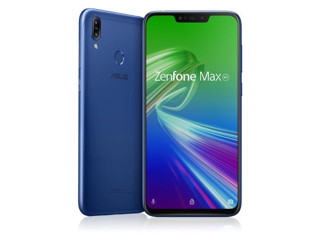 【キャッシュレス 5% 還元】 ASUS スマートフォン ZenFone Max (M2) 32GB SIMフリー [スペースブルー] [キャリア:SIMフリー OS種類:Android 8.1 販売時期:2019年春モデル 画面サイズ:6.3インチ 内蔵メモリ:ROM 32GB RAM 4GB バッテリー容量:4000mAh]
