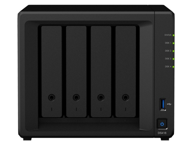 【ポイント5倍】Synology NAS DiskStation DS418/JP [ドライブベイ数:HDD/SSDx4 DLNA:○]  【人気】 【売れ筋】【価格】
