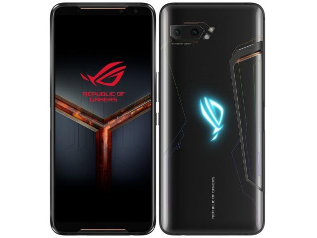 【ポイント5倍】ASUS スマートフォン ROG Phone II 512GB SIMフリー [キャリア:SIMフリー OS種類:Android 9.0 販売時期:2019年秋モデル 画面サイズ:6.59インチ 内蔵メモリ:ROM 512GB RAM 12GB バッテリー容量:6000mAh]