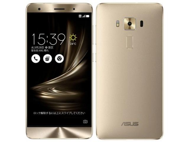 ASUS スマートフォン ZenFone 3 Deluxe ZS570KL-GD256S6 SIMフリー [ゴールド] [キャリア:SIMフリー OS種類:Android 6.0 販売時期:2016年秋モデル 画面サイズ:5.7インチ 内蔵メモリ:ROM 256GB RAM 6GB バッテリー容量:3000mAh] 【】 【人気】 【売れ筋】【価格】