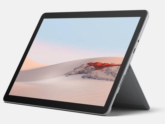 マイクロソフト タブレットPC(端末)・PDA Surface Go 2 STQ-00012 [画面サイズ:10.5インチ 画面解像度:1920x1280 詳細OS種類:Windows 10 Home ネットワーク接続タイプ:Wi-Fiモデル ストレージ容量:128GB メモリ:8GB CPU:Pentium Gold 4425Y/1.7GHz]
