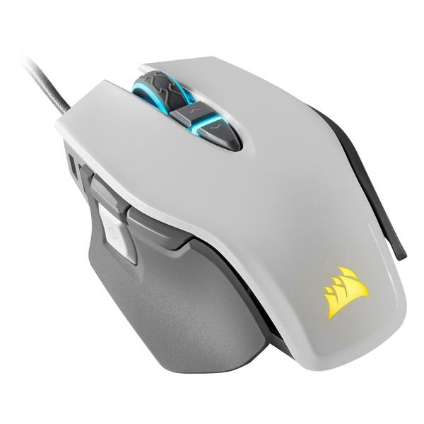 Corsair マウス M65 RGB ELITE CH-9309111-AP [ホワイト] [タイプ:光学式マウス インターフェイス:USB その他機能:カウント切り替え可能]  【人気】 【売れ筋】【価格】