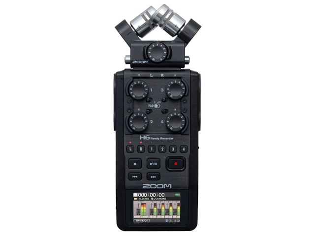 ZOOM ICレコーダー Handy Recorder H6/BLK [Black]  【人気】 【売れ筋】【価格】