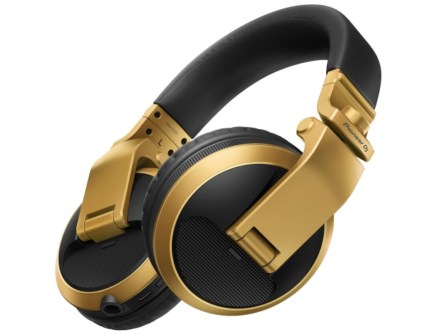 【ポイント5倍】パイオニア イヤホン・ヘッドホン HDJ-X5BT-N [ゴールド] [タイプ:オーバーヘッド 装着方式:両耳 構造:密閉型(クローズド) 駆動方式:ダイナミック型 再生周波数帯域:5Hz~30kHz]  【人気】 【売れ筋】【価格】