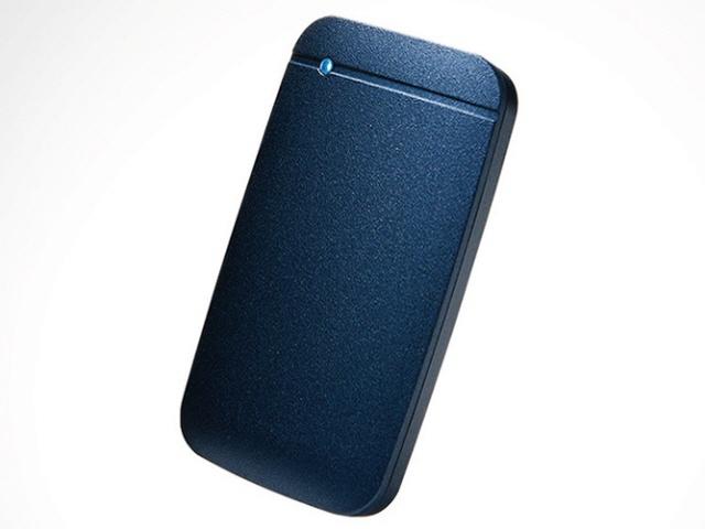 【キャッシュレス 5% 還元】 エレコム SSD ESD-EF1000GNVR [ネイビー] [容量:1000GB インターフェイス:USB] 【】 【人気】 【売れ筋】【価格】