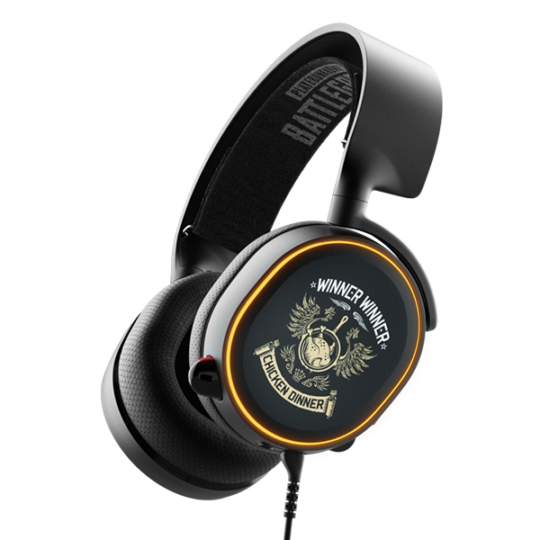 steelseries ヘッドセット Arctis 5 PUBG Edition [ヘッドホンタイプ:オーバーヘッド プラグ形状:USB/ミニプラグ 装着タイプ:両耳用] 【】 【人気】 【売れ筋】【価格】