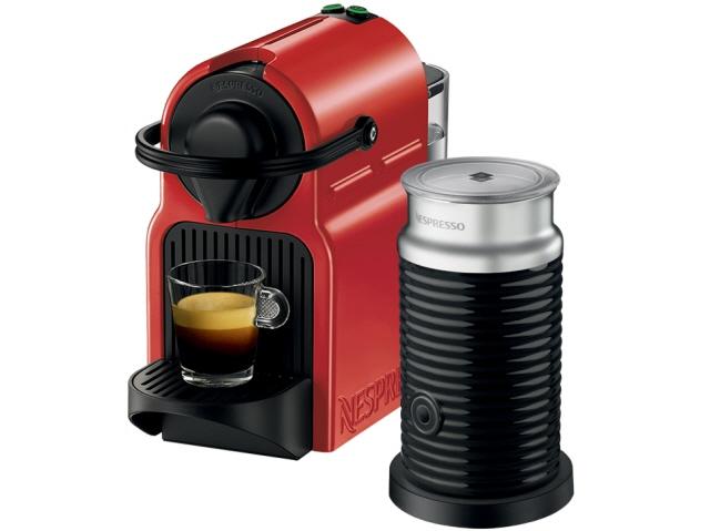ネスプレッソ コーヒーメーカー Nespresso Inissia バンドルセット C40REA3B [レッド] 【】 【人気】 【売れ筋】【価格】