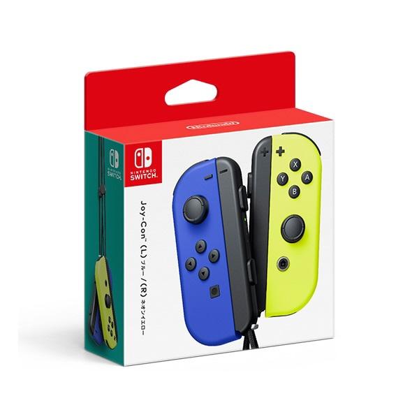 任天堂 ゲーム周辺機器 Joy-Con L R HAC-A-JAPAA ブルー ネオンイエロー ☆国内最安値に挑戦☆ 人気 売れ筋 2020新作 価格 Switch Lite 対応機種:Nintendo Nintendo タイプ:ゲームパッド