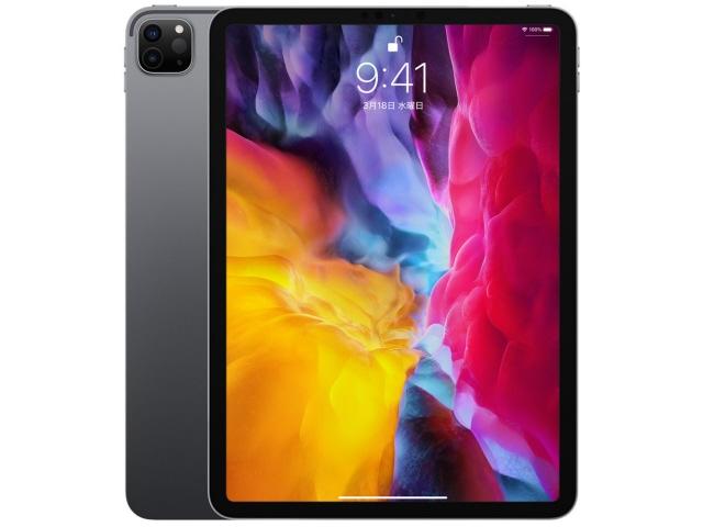 【キャッシュレス 5% 還元】 Apple タブレットPC(端末)・PDA iPad Pro 11インチ 第2世代 Wi-Fi 256GB 2020年春モデル MXDC2J/A [スペースグレイ] [OS種類:iPadOS 画面サイズ:11インチ CPU:Apple A12Z ストレージ容量:256GB]