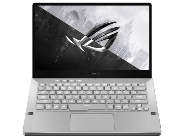 【キャッシュレス 5% 還元】 ASUS ノートパソコン ROG Zephyrus G14 GA401II GA401II-R7G1650TWLA [ムーンライトホワイト AniMe Matrix] [画面サイズ:14インチ CPU:AMD Ryzen 7 4800HS/2.9GHz ストレージ容量:SSD:512GB メモリ容量:16GB OS:Windows 10 Home 64bit]