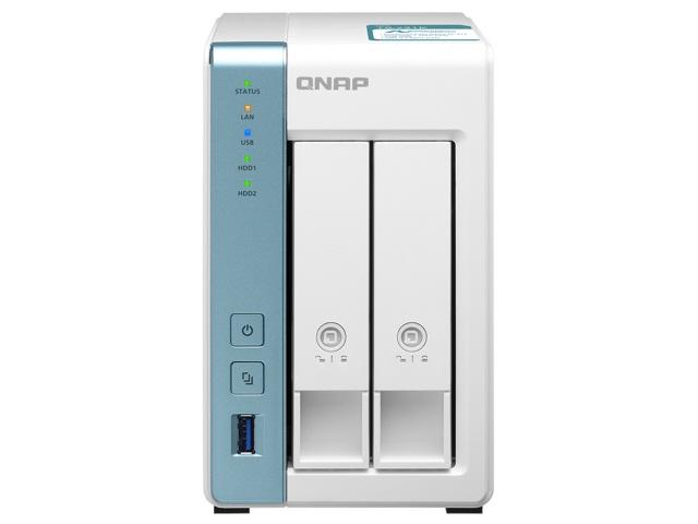 【キャッシュレス 5% 還元】 【ポイント5倍】QNAP NAS TS-231K [白] [ドライブベイ数:HDD/SSDx2 DLNA:○]  【人気】 【売れ筋】【価格】