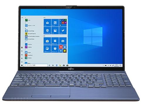 Core i7-10510U搭載の15.6型ノートPC 富士通 ノートパソコン 公式ショップ FMV LIFEBOOK AH77 FMVA77E2L 価格 当店限定販売 メタリックブルー 売れ筋 E2 人気