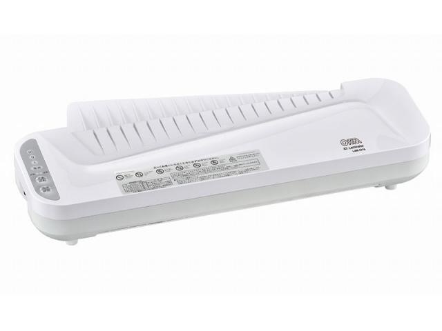 オーム電機 数量限定 ラミネーター 割引 LAM-431A 対応サイズ:A3 最大ラミネート幅:320mm 消費電力:880W 最大ラミネート厚:0.5mm 価格 売れ筋 人気
