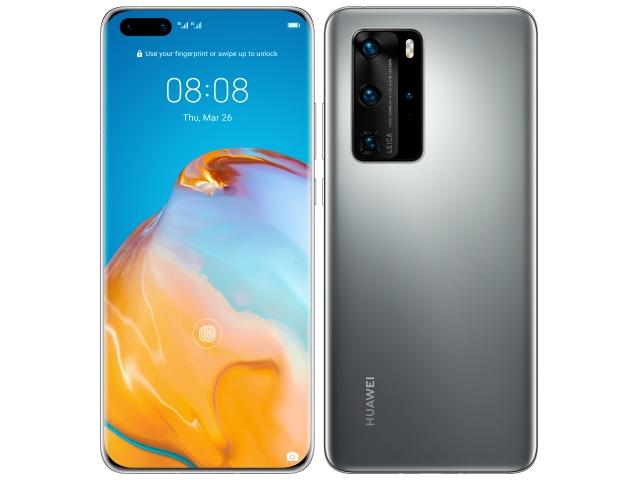 HUAWEI スマートフォン HUAWEI P40 Pro 5G SIMフリー [シルバーフロスト] [キャリア:SIMフリー OS種類:EMUI 10.1 (Based on Android 10) 販売時期:2020年夏モデル 画面サイズ:6.58インチ 内蔵メモリ:ROM 256GB RAM 8GB バッテリー容量:4200mAh]