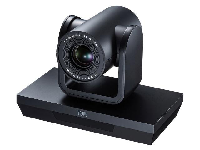 サンワサプライ WEBカメラ CMS-V54BK [有効画素数:210万画素 最大フレームレート:30fps 最低照度:0.1ルクス 幅x高さx奥行:180x129x112mm] 【楽天】 【人気】 【売れ筋】【価格】