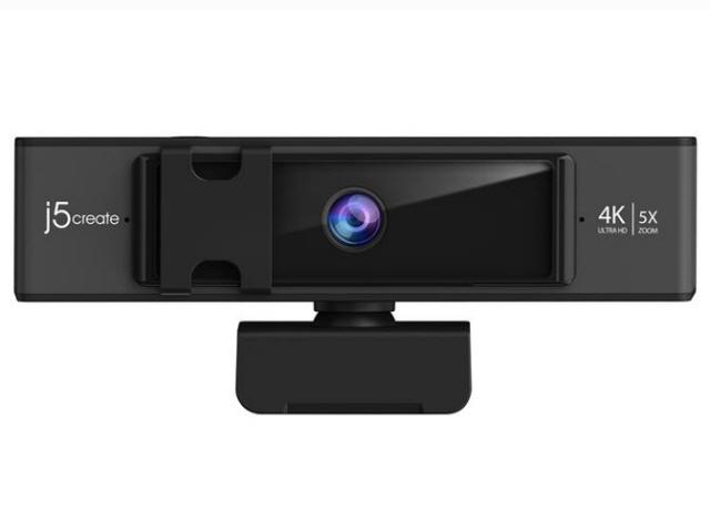 最大4K/30fpsの出力に対応したWEBカメラ j5 create WEBカメラ JVCU435 [ブラック] [最大フレームレート:30fps 幅x高さx奥行:135x54.8x48.7mm] 【】 【人気】 【売れ筋】【価格】