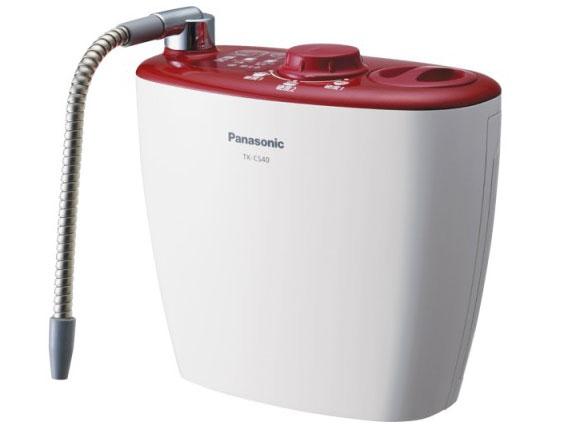 パナソニック 浄水器・整水器 TK-CS40-R [チェリーレッド] [タイプ:浄水器 設置タイプ:据置型 カートリッジ寿命:6ヶ月] 【】 【人気】 【売れ筋】【価格】