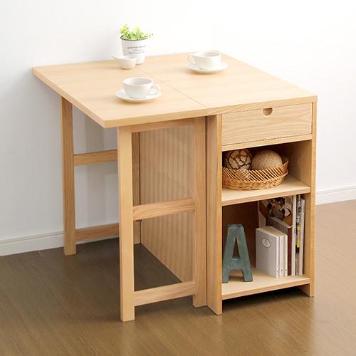 ダイニング テーブル 2人用 ブラウン 幅:40cm~49cm 奥行き:80cm~89cm 高さ:70cm~79cm キャスター無し エレガント カジュアル シンプル ナチュラル ベーシック ラグジュアリー 木 茶 ブラウン 70cm 長方形 かわいい おしゃれ クラシック ナチュラル 木製