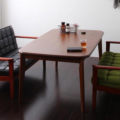 ダイニング テーブル 2人用 ブラウン 幅:160cm~169cm 奥行き:90cm~99cm 高さ:60cm~69cm エレガント カジュアル シンプル ナチュラル ベーシック ラグジュアリー レトロ 木 茶 ダークブラウン 60cm かわいい おしゃれ クラシック ナチュラル 木製