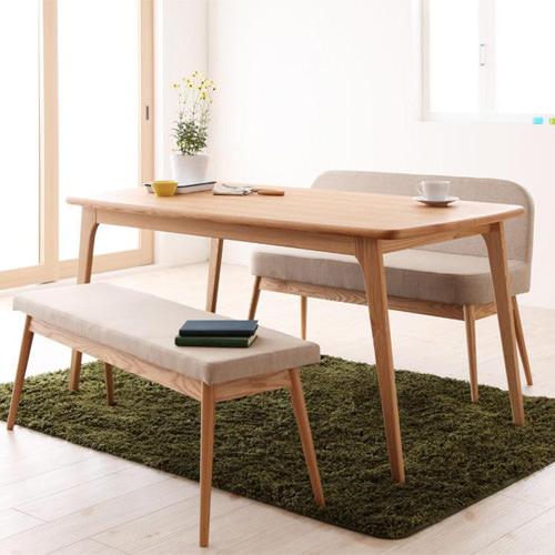 ダイニング テーブル 4人用 ブラウン 幅:80cm~89cm 奥行き:150cm~159cm 高さ:60cm~69cm エレガント カジュアル シンプル ナチュラル ベーシック モダン ラグジュアリー 木 角型 茶 ブラウン 70cm かわいい おしゃれ モダン シンプル ナチュラル長方形 木製