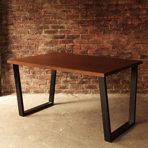 ダイニング テーブル 2人用 ブラウン 幅:120cm~129cm 幅:150cm~159cm 奥行き:80cm~89cm 高さ:60cm~69cm エレガント カジュアル シンプル ナチュラル ベーシック モダン ラグジュアリー 北欧 木 角型 茶 ブラウン 茶 ダークブラウン おしゃれ モダン シンプル