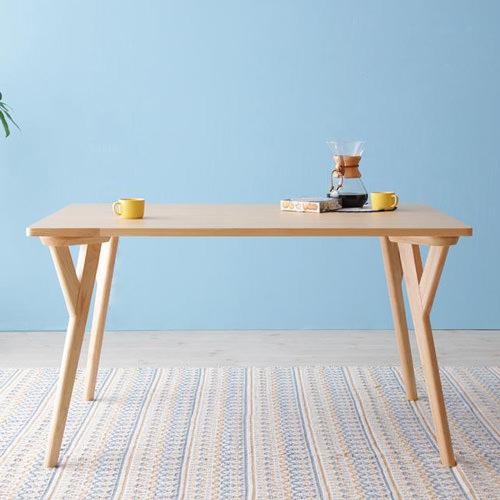 ダイニング テーブル 4人用 ブラウン 幅:120cm~129cm 幅:140cm~149cm 奥行き:80cm~89cm 高さ:60cm~69cm エレガント カジュアル シンプル ナチュラル ベーシック モダン ラグジュアリー 北欧 木 角型 茶 ブラウン おしゃれ カントリー シンプル ナチュラル 北欧
