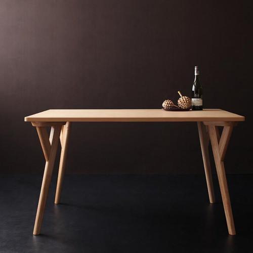 ダイニング テーブル 4人用 ブラウン 幅:120cm~129cm 幅:140cm~149cm 奥行き:80cm~89cm 高さ:60cm~69cm カジュアル シンプル ナチュラル ベーシック モダン ラグジュアリー 木 角型 茶 ブラウン 灰 グレー おしゃれ モダン シンプル ナチュラル 来客 長方形 木製