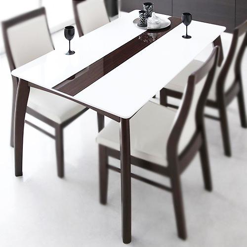 ダイニング テーブル 4人用 ブラウン 幅:130cm~139cm 幅:180cm~189cm 奥行き:80cm~89cm 高さ:70cm~79cm キャスター無し エレガント シンプル デザイナーズ ベーシック モダン 無地 木 角型 ベトナム 茶 ブラウン 茶 ダークブラウン 70cm かわいい おしゃれ