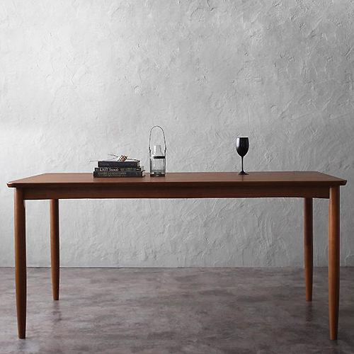 ダイニング テーブル 4人用 ブラウン 幅:120cm~129cm 幅:150cm~159cm 奥行き:70cm~79cm 高さ:70cm~79cm カントリー クラシック シンプル ベーシック モダン 無地 木 角型 ベトナム 茶 ブラウン アンティーク かわいい おしゃれ クラシック モダン シンプル