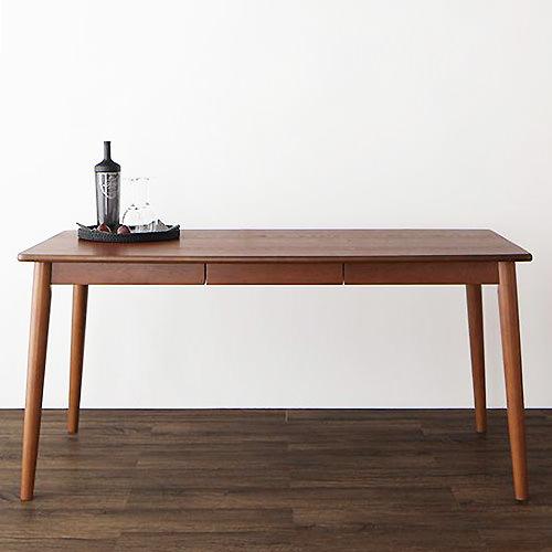 ダイニング テーブル 2人用 ブラウン 幅:110cm~119cm 幅:150cm~159cm 奥行き:70cm~79cm 奥行き:80cm~89cm 高さ:70cm~79cm キャスター無し クラシック シンプル デザイナーズ ベーシック モダン 無地 木 角型 茶 ブラウン 背もたれ付き 長方形 アンティーク モダン