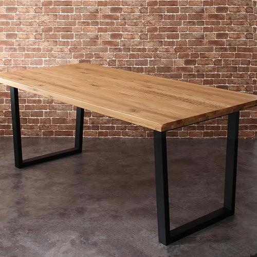 ダイニング テーブル 4人用 ブラウン 幅:180cm~189cm 奥行き:90cm~99cm 高さ:70cm~79cm キャスター無し 既成品 クラシック シンプル ナチュラル ベーシック モダン レトロ 無地 木 角型 茶 ブラウン 長方形 モダン おしゃれ クラシック ヴィンテージ シンプル