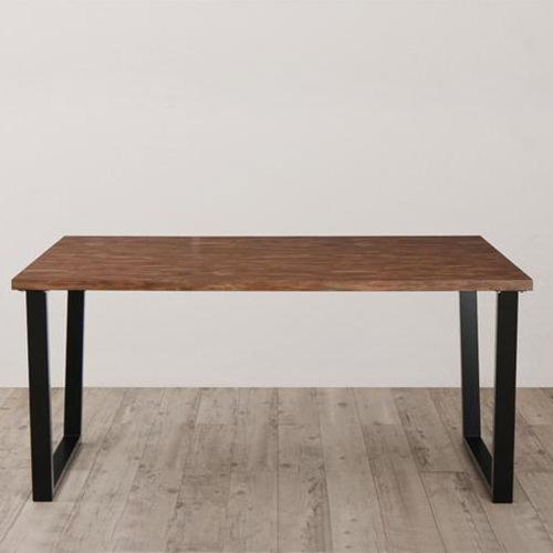 ダイニング テーブル 4人用 ブラック ブラウン 幅:120cm~129cm 幅:150cm~159cm 奥行き:80cm~89cm 高さ:60cm~69cm キャスター無し 既成品 シンプル ベーシック モダン 北欧 無地 要組立品 木 角型 茶 ブラウン 60cm 長方形 モダン かわいい おしゃれ シンプル