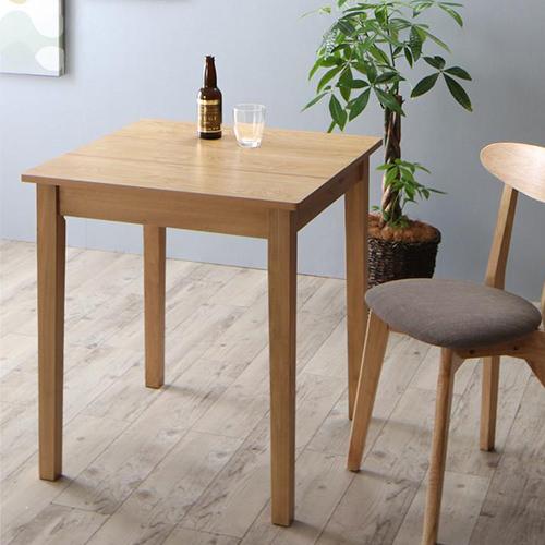 ダイニング テーブル 2人用 ブラウン ベージュ 幅:110cm~119cm 奥行き:60cm~69cm 高さ:70cm~79cm キャスター無し 既成品 カジュアル シンプル ベーシック 北欧 無地 木 角型 茶 ブラウン アイボリー 正方形 正方形 かわいい おしゃれ シンプル ナチュラル カフェ 北欧