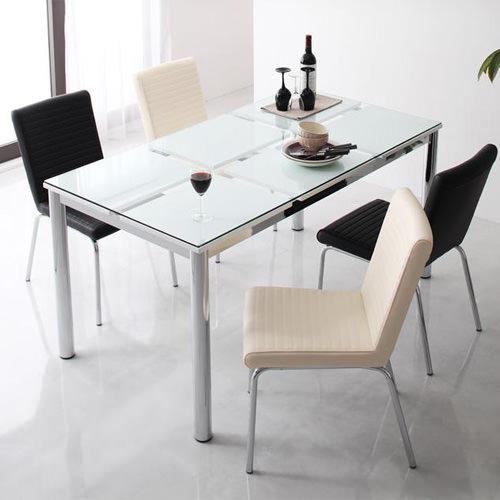 ダイニング テーブル 2人用 ホワイト 幅:80cm~89cm 幅:130cm~139cm 幅:150cm~159cm 奥行き:80cm~89cm 高さ:70cm~79cm エレガント カジュアル シンプル ナチュラル ベーシック モダン ラグジュアリー 角型 白 ホワイト 70cm かわいい おしゃれ モダン シンプル