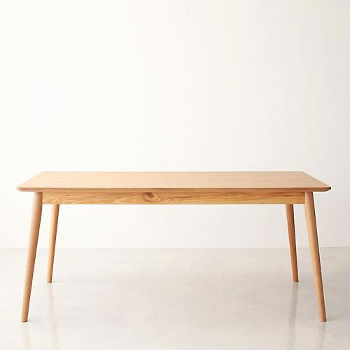 ダイニング テーブル 4人用 ブラウン 幅:160cm~169cm 奥行き:70cm~79cm 高さ:50cm~59cm エレガント カジュアル シンプル ナチュラル ベーシック ラグジュアリー 木 茶 ブラウン かわいい おしゃれ クラシック ナチュラル 木製長方形