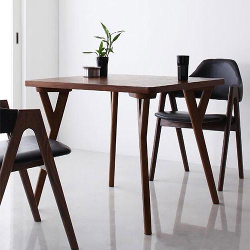 ダイニング テーブル 2人用 ブラウン 幅:80cm~89cm 奥行き:80cm~89cm 高さ:70cm~79cm エレガント カジュアル シンプル ナチュラル ベーシック モダン ラグジュアリー 北欧 木 角型 茶 ダークブラウン 70cm かわいい おしゃれ モダン シンプル ナチュラル 北欧 正方形