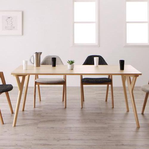 ダイニング テーブル 木脚 ブラウン 幅:170cm~179cm 奥行き:80cm~89cm 高さ:70cm~79cm エレガント カジュアル シンプル ナチュラル ベーシック モダン ラグジュアリー 北欧 木 角型 茶 ブラウン 70cm かわいい おしゃれ モダン シンプル ナチュラル 北欧 長方形 木製