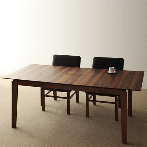 ダイニング テーブル 6人用 ブラウン 幅:150cm~159cm 奥行き:90cm~99cm 高さ:70cm~79cm エレガント カジュアル シンプル ナチュラル ベーシック モダン ラグジュアリー 北欧 木 角型 茶 ブラウン おしゃれ モダン シンプル ナチュラル 北欧 長方形 木製