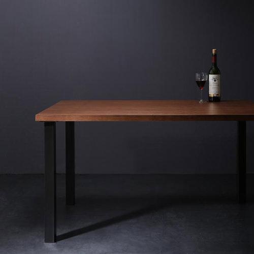 ダイニング テーブル 4人用 ブラウン 幅:120cm~129cm 幅:150cm~159cm 奥行き:80cm~89cm 高さ:60cm~69cm カジュアル シンプル ナチュラル ベーシック モダン ラグジュアリー 木 角型 茶 ブラウン おしゃれ モダン シンプル 来客 長方形 木製