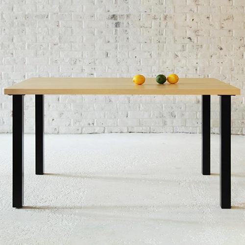 ダイニング テーブル 4人用 ブラウン 幅:120cm~129cm 幅:150cm~159cm 奥行き:80cm~89cm 高さ:60cm~69cm エレガント カジュアル シンプル ナチュラル ベーシック モダン ラグジュアリー 北欧 木 角型 茶 ブラウン 茶 ダークブラウン おしゃれ モダン シンプル